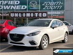 2015 Mazda Mazda3 GX MODEL, ONE OWNER, LOW KMS Sedan