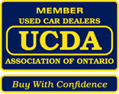 UCDA badge