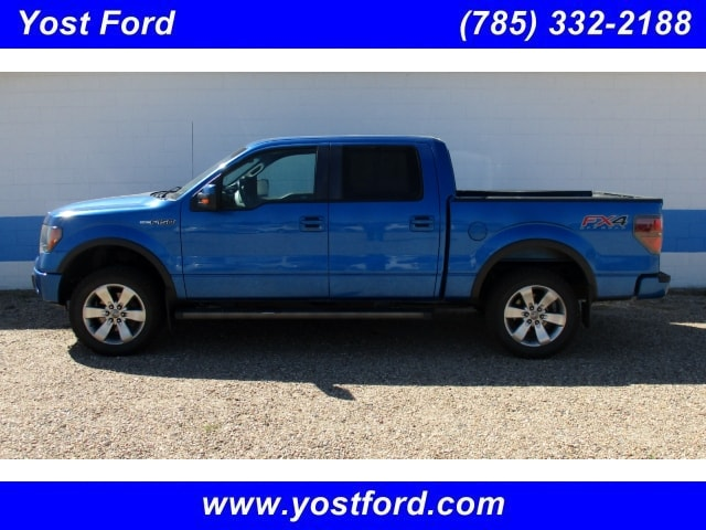 2012 Ford F-150 FX4 Crew Cab Short Bed Truck