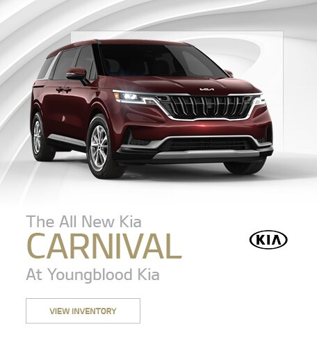 The All New Kia Carnival At Youngblood Kia