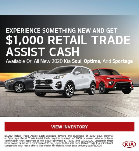 Experience Something New And Get $1,000 Retail Trade Assist Cash