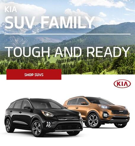 Kia SUV Family