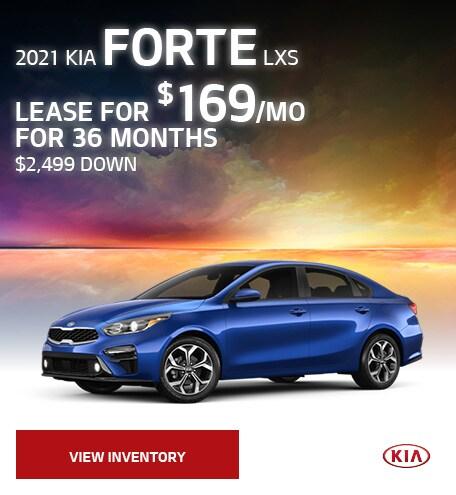 2021 Kia Forte LXs