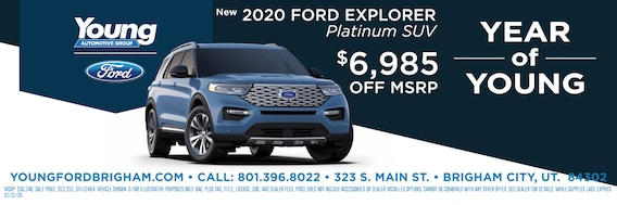 Syncmyride Com Register Ford >> Young Ford Of Brigham City Ford Dealership In Brigham City Ut