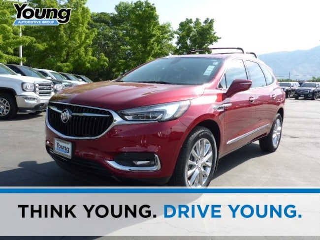 New 2018 Buick Enclave Essence SUV for sale in Layton, Utah at Young Buick GMC