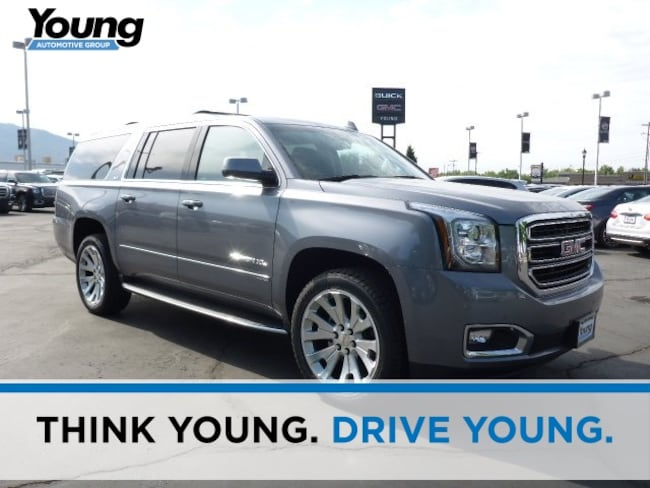 New 2018 GMC Yukon XL SLT SUV for sale in Layton, Utah at Young Buick GMC