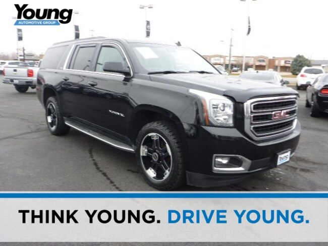 Used 2015 GMC Yukon XL SLT SUV for sale in Layton, UT at Young Buick GMC