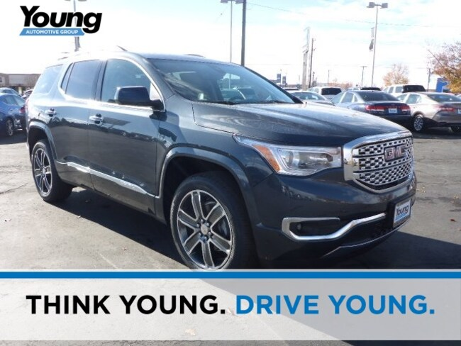 New 2019 GMC Acadia Denali SUV for sale in Layton, Utah at Young Buick GMC