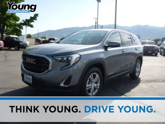 New 2018 GMC Terrain SLE SUV for sale in Layton, Utah at Young Buick GMC