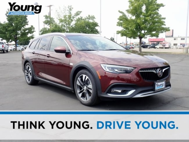 New 2018 Buick Regal Tourx Essence Wagon for sale in Layton, Utah at Young Buick GMC