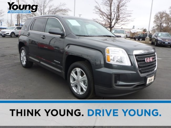 Used 2017 GMC Terrain SLE-1 SUV for sale in Layton, UT at Young Buick GMC