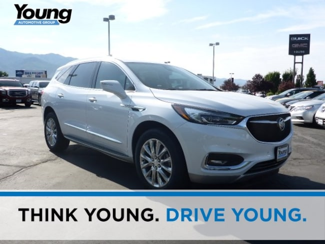 New 2018 Buick Enclave Premium Group SUV for sale in Layton, Utah at Young Buick GMC