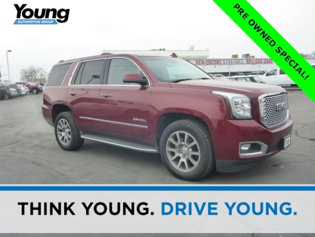 Used 2016 GMC Yukon Denali SUV for sale in Layton, UT at Young Buick GMC