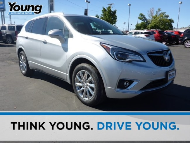 New 2019 Buick Envision Essence SUV for sale in Layton, Utah at Young Buick GMC