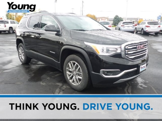 New 2019 GMC Acadia SLE-2 SUV for sale in Layton, Utah at Young Buick GMC