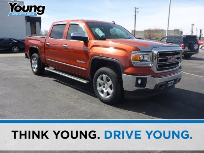 Used 2015 GMC Sierra 1500 SLT Truck for sale in Layton, UT at Young Buick GMC