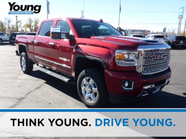 New 2019 GMC Sierra 3500HD Denali Truck for sale in Layton, Utah at Young Buick GMC
