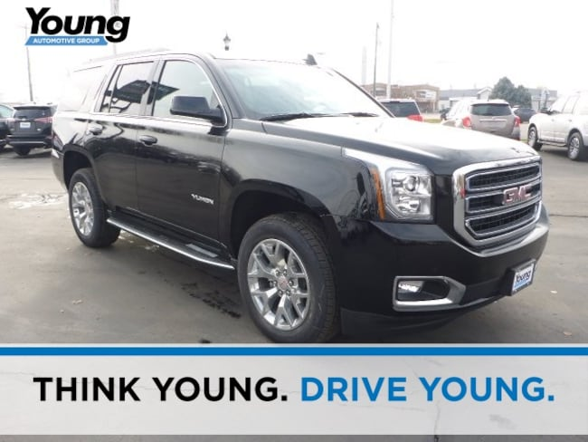 New 2019 GMC Yukon SLE SUV for sale in Layton, Utah at Young Buick GMC