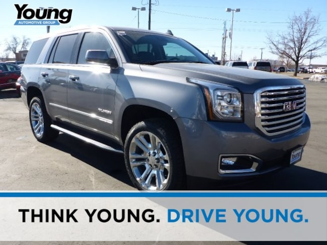 New 2019 GMC Yukon SLT SUV for sale in Layton, Utah at Young Buick GMC