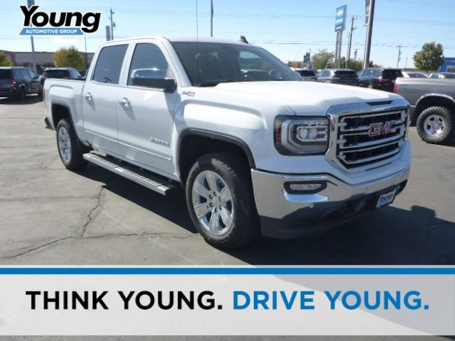 New 2018 GMC Sierra 1500 SLT Truck for sale in Layton, Utah at Young Buick GMC