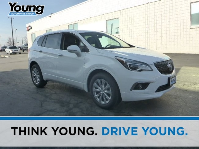 New 2018 Buick Envision Essence SUV for sale in Layton, Utah at Young Buick GMC