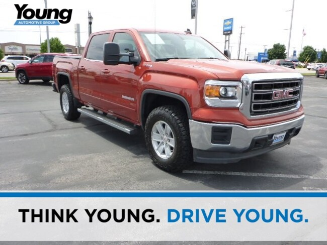 Used 2015 GMC Sierra 1500 SLE Truck for sale in Layton, UT at Young Buick GMC