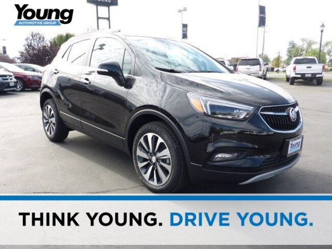 New 2019 Buick Encore Essence SUV for sale in Layton, Utah at Young Buick GMC