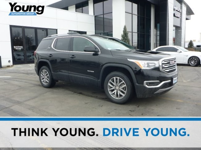 New 2018 GMC Acadia SLE-2 SUV for sale in Layton, Utah at Young Buick GMC