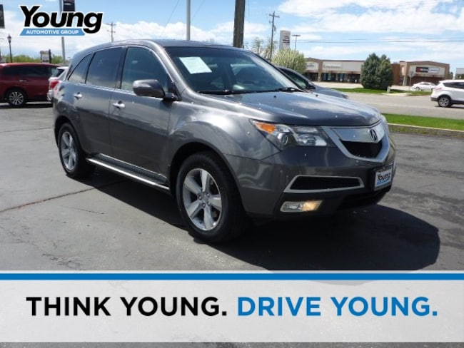 Used 2012 Acura MDX Technology SUV for sale in Logan, UT at Young Honda