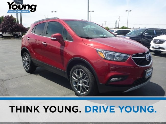 New 2018 Buick Encore Sport Touring SUV for sale in Layton, Utah at Young Buick GMC
