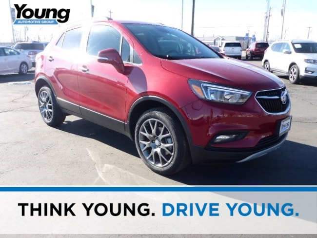 New 2019 Buick Encore Sport Touring SUV for sale in Layton, Utah at Young Buick GMC