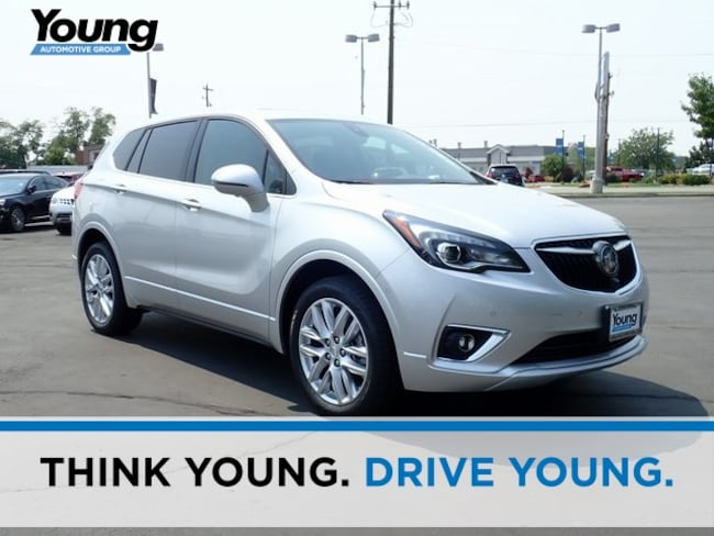 New 2019 Buick Envision Premium II SUV for sale in Layton, Utah at Young Buick GMC