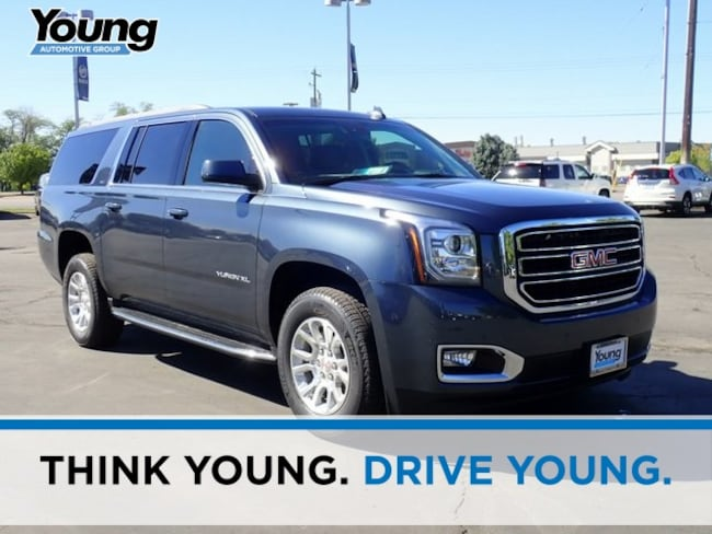 New 2019 GMC Yukon XL SLT SUV for sale in Layton, Utah at Young Buick GMC