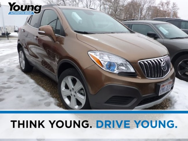 Used 2016 Buick Encore Base SUV for sale in Ogden, UT at Young Subaru