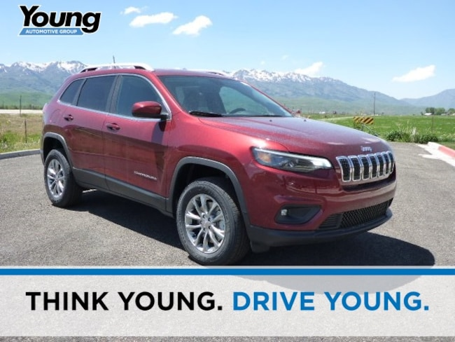 New 2019 Jeep Cherokee LATITUDE PLUS 4X4 Sport Utility for sale in Morgan, UT at Young Chrysler Jeep Dodge Ram