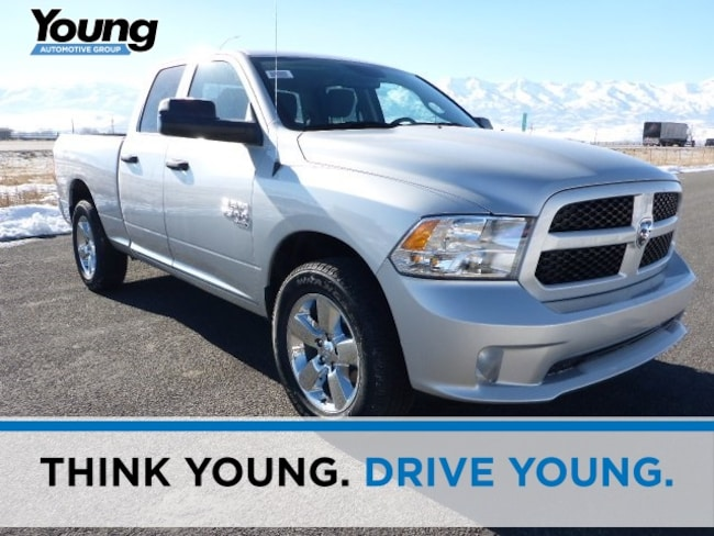 New 2019 Ram 1500 CLASSIC EXPRESS QUAD CAB 4X4 6'4 BOX Quad Cab for sale in Morgan, UT at Young Chrysler Jeep Dodge Ram