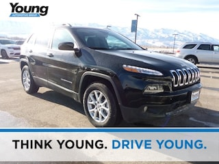 2018 Jeep Cherokee LATITUDE 4X4 Sport Utility for sale at Young Chrysler Jeep Dodge Ram in Morgan, UT