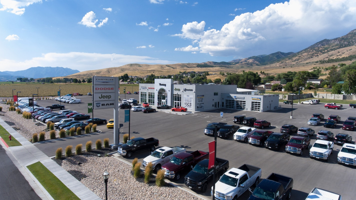 Young Chrysler Jeep Dodge Ram Dealer Morgan, UT | Serving Layton