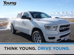 2019 Ram 1500 BIG HORN / LONE STAR CREW CAB 4X4 5'7 BOX Crew Cab for sale at Young Chrysler Jeep Dodge Ram in Morgan, UT