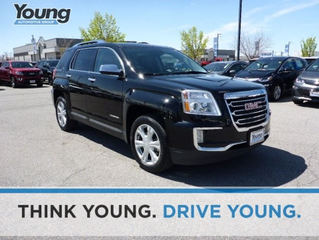 Used 2017 GMC Terrain SLT SUV for sale in Layton, UT at Young Buick GMC