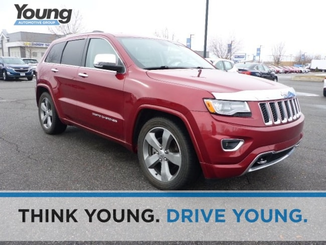 Used 2014 Jeep Grand Cherokee Overland 4x4 SUV for sale in Ogden, UT at Avis Car Sales