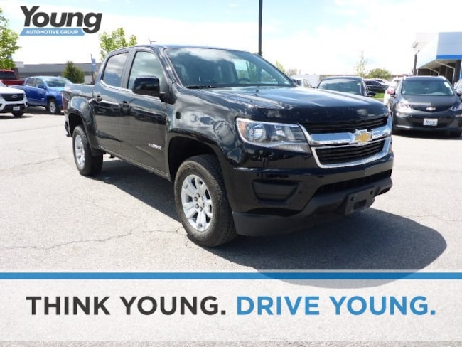Used 2019 Chevrolet Colorado LT Truck Crew Cab C8622 for sale in Ogden, UT at Young Subaru