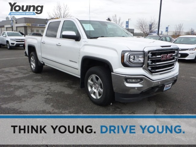 Used 2017 GMC Sierra 1500 SLT Truck Crew Cab for sale in Layton, UT at Young Buick GMC
