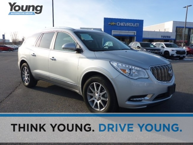 Used 2016 Buick Enclave Leather SUV for sale in Layton, UT at Young Buick GMC
