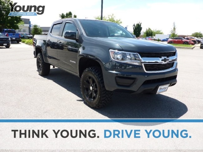 Used 2018 Chevrolet Colorado LT Truck Crew Cab CT7213A for sale in Ogden, UT at Young Subaru