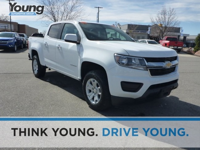 Used 2019 Chevrolet Colorado LT Truck Crew Cab C8447 for sale in Ogden, UT at Young Subaru
