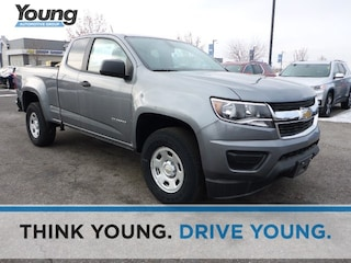 Used 2018 Chevrolet Colorado WT Truck Extended Cab 1GCHSBEA4J1244305 for sale in Kaysville, Utah at Young Kia