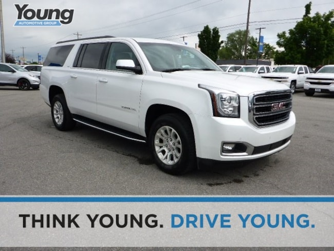 Used 2018 GMC Yukon XL SLT SUV for sale in Layton, UT at Young Buick GMC