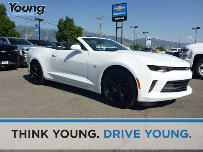 Used 2017 Chevrolet Camaro 1LT Convertible for sale in Ogden, UT at Young Subaru