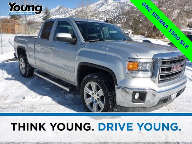 Used 2015 GMC Sierra 1500 SLE Truck Double Cab for sale in Layton, UT at Young Buick GMC